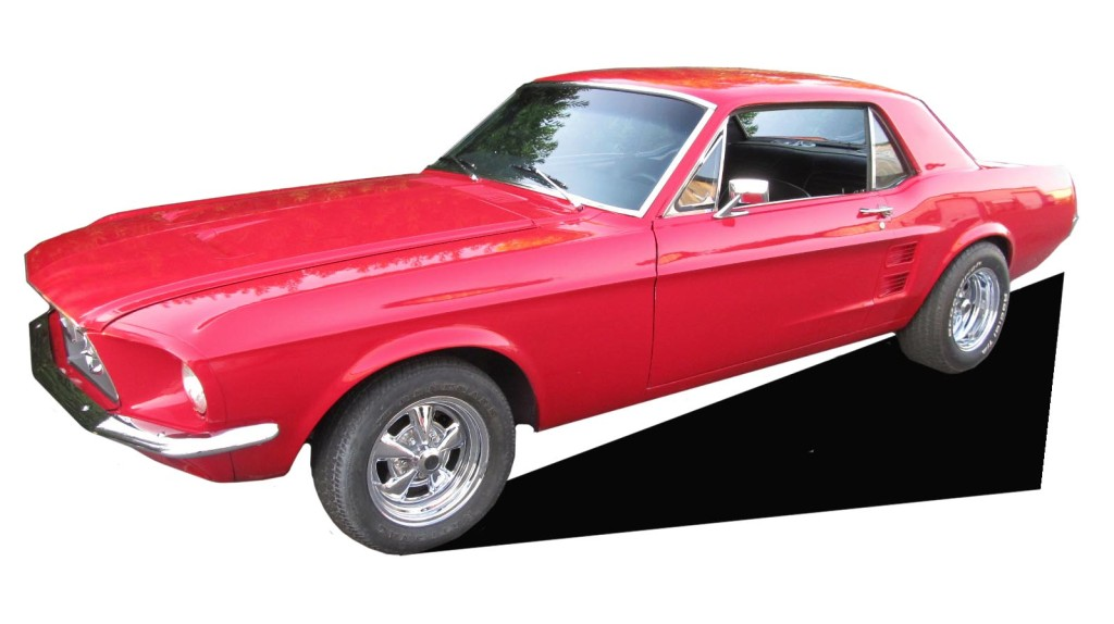 1967 Mustang Red